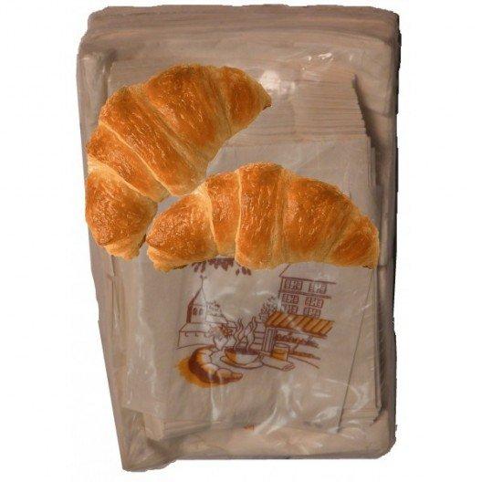 Bolsas para 2 croissants