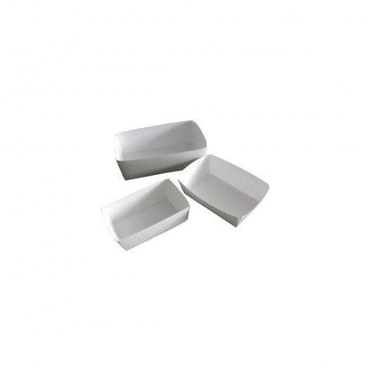 Bandejas Alimentarias Blancas 20x135