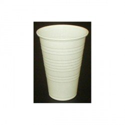 Vasos Blancos de PP 20cl Manual