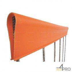 Capa de protección de PVC