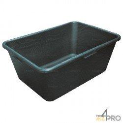 Capazo de plástico rectangular 40L