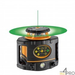 Láser giratorio vertical y horizontal Geo Fennel FLG 260VA-Green