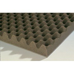 Complejo acústico tipo perfilado - 6kg/m² - Superficie 3m²