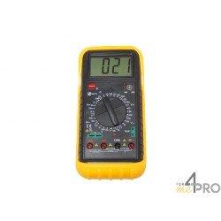 Multímetro : Voltímetro, Amperímetro, Óhmetro, Termómetro
