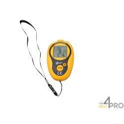 Termómetro infrarrojo con puntería láser compacto -20°C a +270°C
