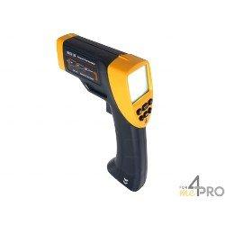 Termómetro infrarrojo con puntería láser y emisividad regulable -20°C a +530°C