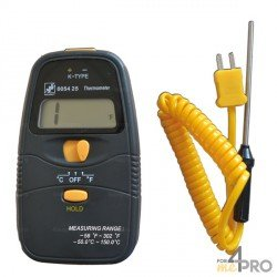 Termómetro con sonda intercambiable -50°C a +150°C