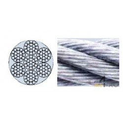 Cable de acero 3 mm - 7 x 19