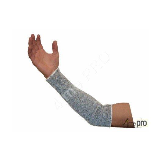 Manguito anticorte - 35cm - soporte compuesto gris - Norma EN 388 154x