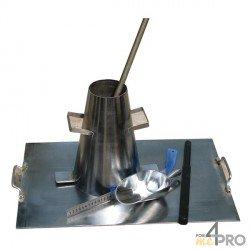 Cono de Abrams de acero galvanizado