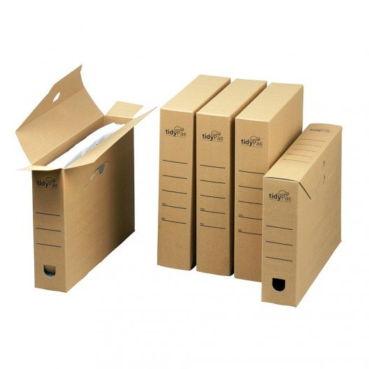 Cajas Archivo A4 31,6 x 6,3 x 23,8 cm