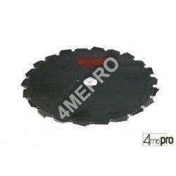 Cuchilla para desbrozadora 20/25,4mm