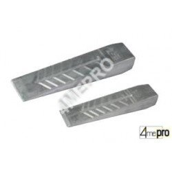 Cuña de aluminio 0,6/1,2kg
