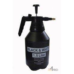 Pulverizador Black & White 1,5 l negro