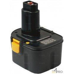 Batería de repuesto Ni-mH 12 V 3 A para Berner, Dewalt y Wurth
