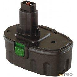 Batería de repuesto Ni-mH 18 V 3 A para Dewalt y Wurth