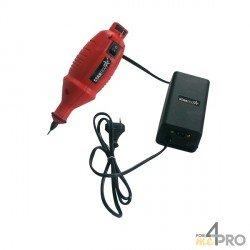 Lápiz grabador por micropercusión rojo