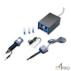 Kit grabador con micro-percusión + grabador con arco eléctrico