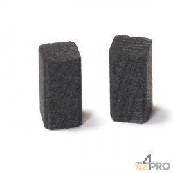 Escobilla de carbón para lijadoras BLACK DECKER 5 x 5 x 10 mm e52ee56155a