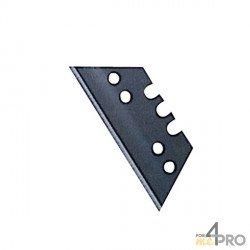 Hojas de repuesto maxi trapecio 50 mm para cúter y cuchillo de seguridad