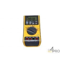 Multímetro 5 en 1 : termómetro, luxómetro, sonómetro, higrómetro, voltímetro