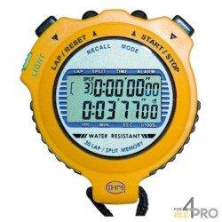 Cronómetro retroiluminado y estanco