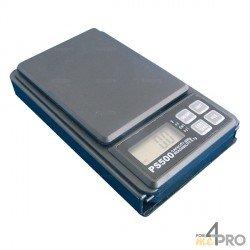 Balanza digital de bolsillo 500g