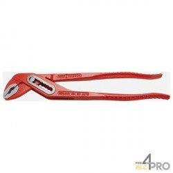 Pinzas ajustables multitoma rojo 17,5 cm