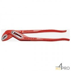 Pinzas ajustables multitoma rojo 30 cm