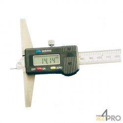 Indicador de profundidad digital con punta 20 cm