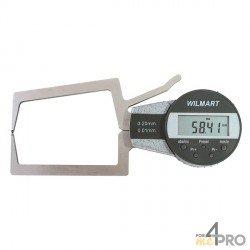 Reloj palpador de exterior digital capacidad 20-40 mm