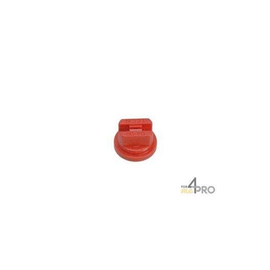 Boquilla de chorro plano 110 ° - Ø 1,3 - roja