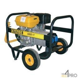 Grupo electrógeno gasolina Ayerbe 5000 KT MN Kiotsu