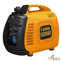 Grupo electrógeno gasolina insonorizado Ayerbe 1200 KT inverter