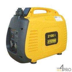 Grupo electrógeno gasolina insonorizado Ayerbe 2100 KT inverter