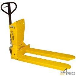 Transpaleta pesadora manual - Capacidad 2000 kg