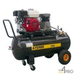 Compresor de aire 100 L - Motor HONDA GX 160