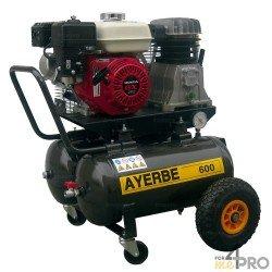 Compresor de aire 25 L x 2 - Motor HONDA GX 160