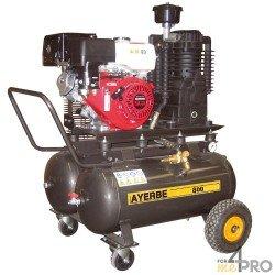 Compresor de aire 50 L x 2 - Motor HONDA GX 270