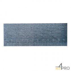 Regla para mecánico rectangular graduada 1 m