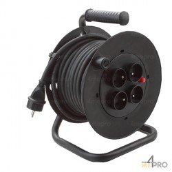 Enrollador de cable de 25 m para uso interior
