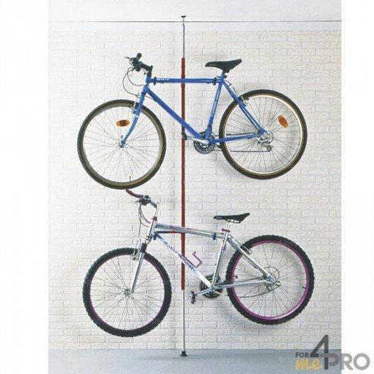 Soporte de pared para bicicletas universal - 2 bicis