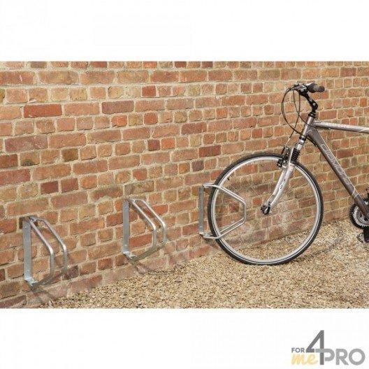 Aparcabicicletas de pared giratorio a 180° - 1 bici