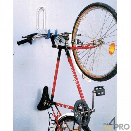Gancho de pared con suspensión por el manillar - 1 bici