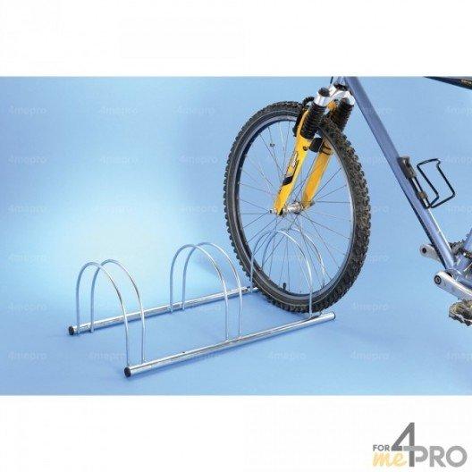 Aparcabicicletas de suelo cara a cara económico - 3 o 5 bicicletas