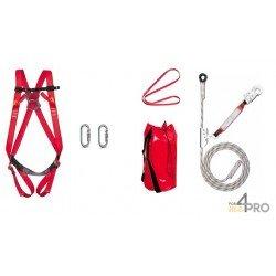 """Kit de seguridad """"Desplazamientos verticales"""" 20 metros"""