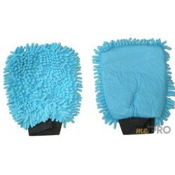 Guante de limpieza Microfibra ''Rasta'' azul