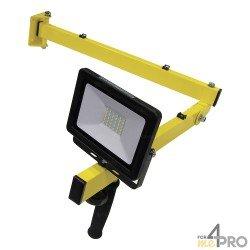 Kit bras articulé et projecteur de quai LED extérieur IP65