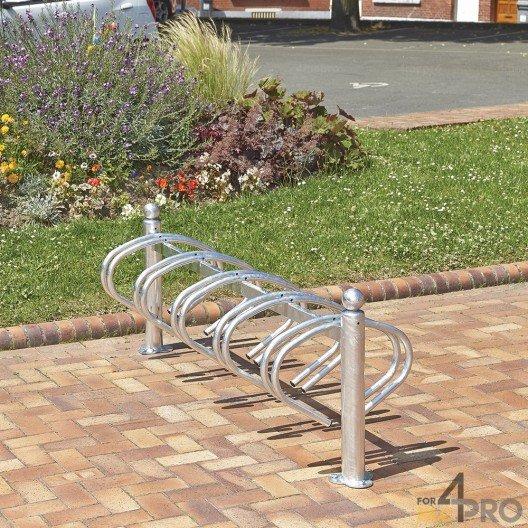 Aparcabicicletas galvanizado New York para 10 bicicletas