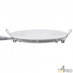 Panel LED circular SuperSlim - IP20 e IKO5